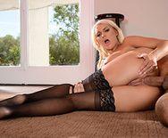 Смотреть анальный секс блондинки с огромной задницей - 4