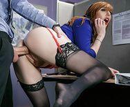 Смотреть красивый трах рыжей сучки с большими сиськами - 3