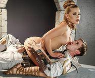 Вагинальный секс светловолосой секс-рабыни - 3