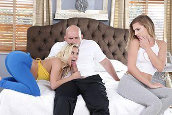 Красивый секс с красивыми блондинками